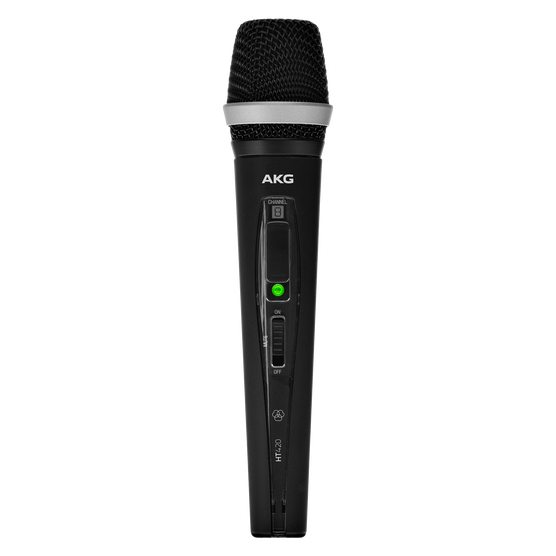 HT420 BandB1 - Black - Professional wireless handheld transmitter - Hero