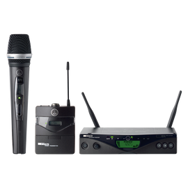 WMS470 - Black - Professional wireless microphone system - Hero