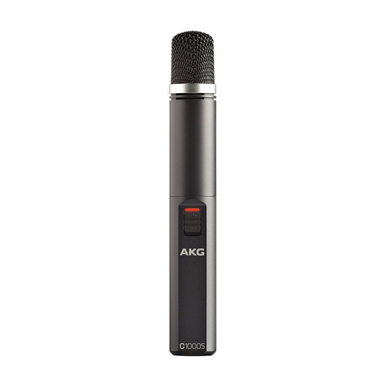 C1000 S - Black - High-performance small diaphragm condenser microphone - Hero