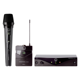 Perception Wireless - Black - High-performance wireless microphone system - Hero