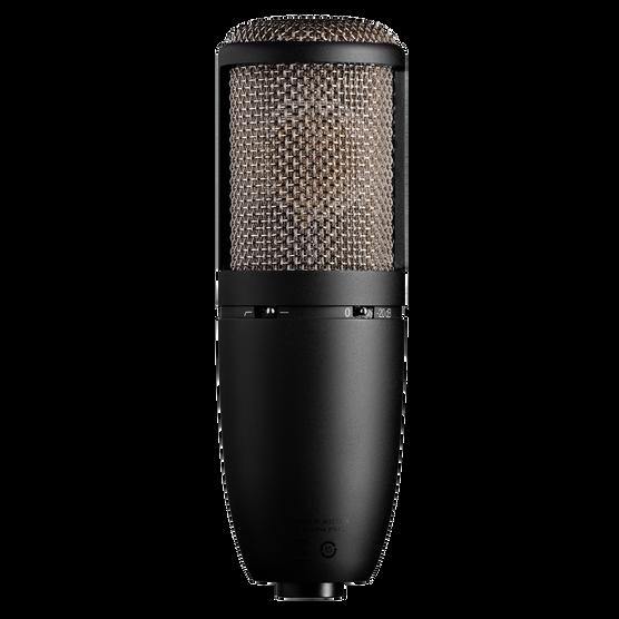P420 - Black - High-performance dual-capsule true condenser microphone - Back