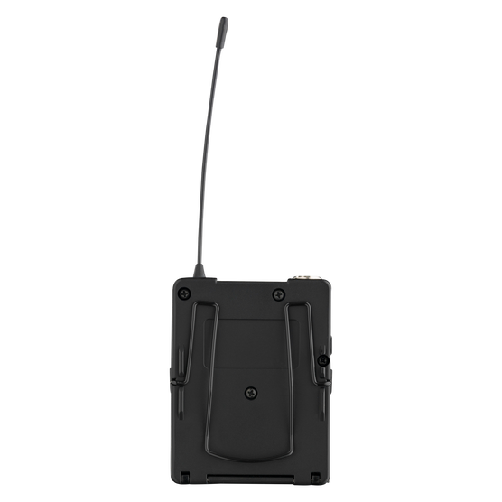 DPT800 Band2 50mW - Black - Reference digital wireless body pack transmitter - Back