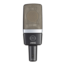 C214 - Black - Professional  large-diaphragm  condenser microphone - Hero