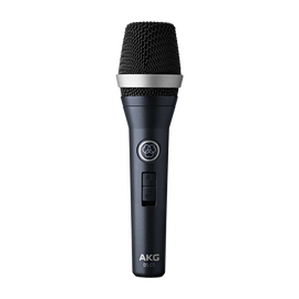 D5 CS - Dark Blue - Professional dynamic vocal microphone with on/off switch - Hero