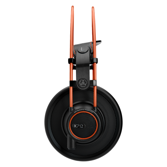 K712 PRO - Black - Reference studio headphones  - Left