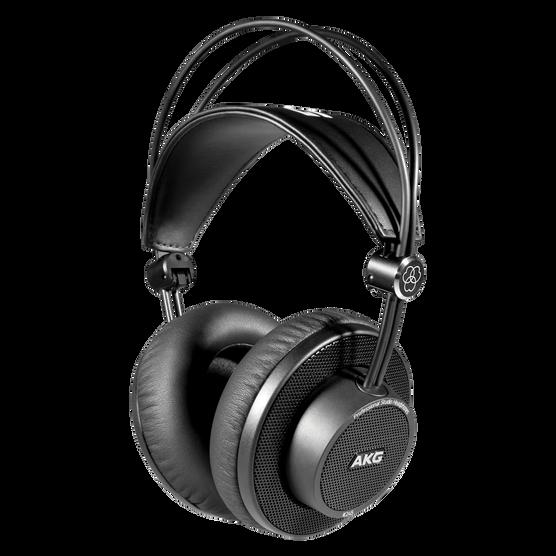 K245 - Black - Over-ear, open-back, foldable studio headphones - Hero