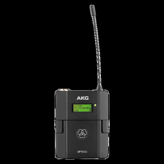 DPT800 Band2 50mW - Black - Reference digital wireless body pack transmitter - Hero