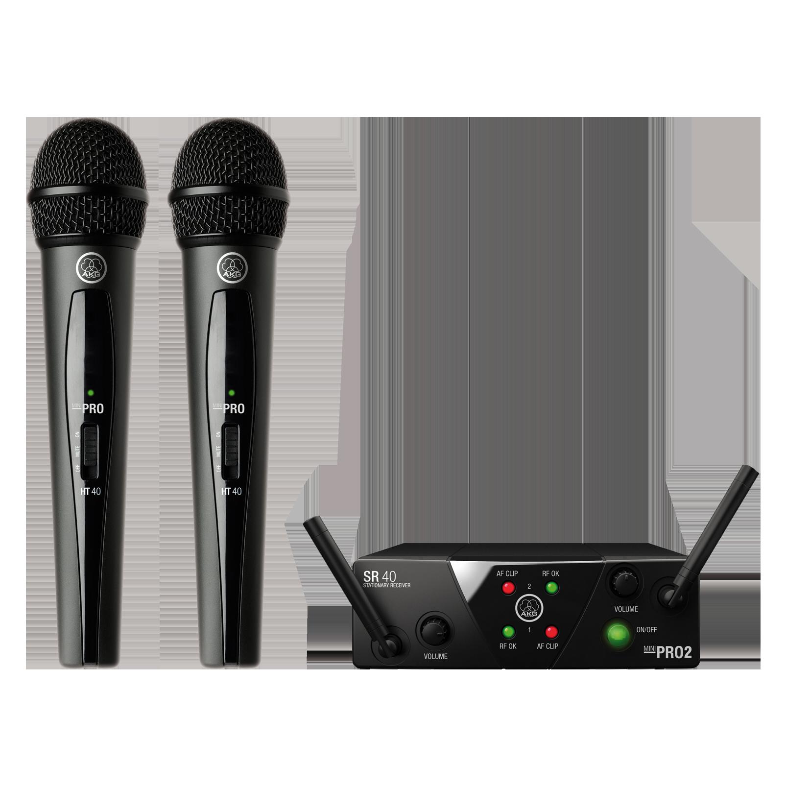 WMS40 Mini Dual Vocal Set
