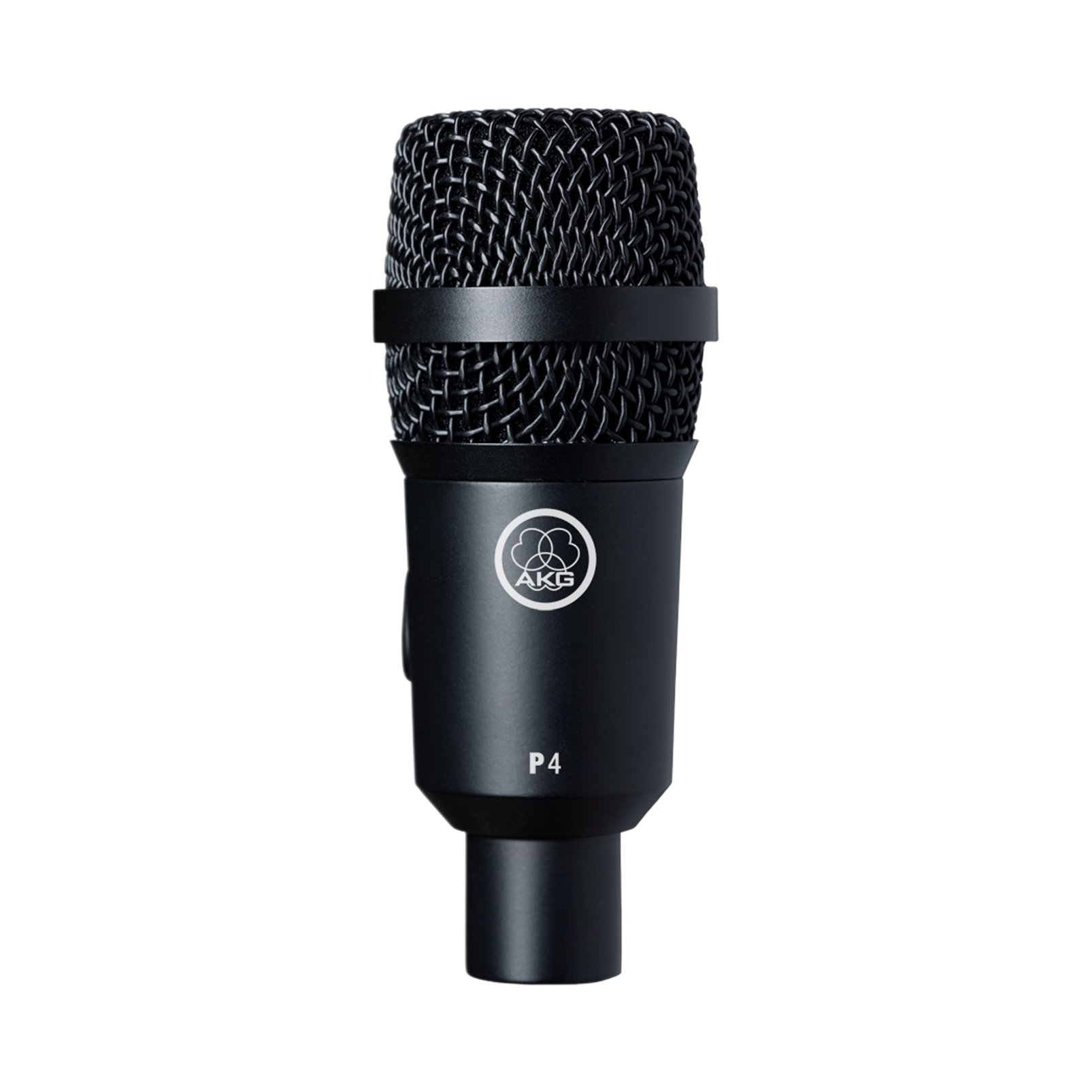 P4 - Black - High-performance dynamic instrument microphone - Hero