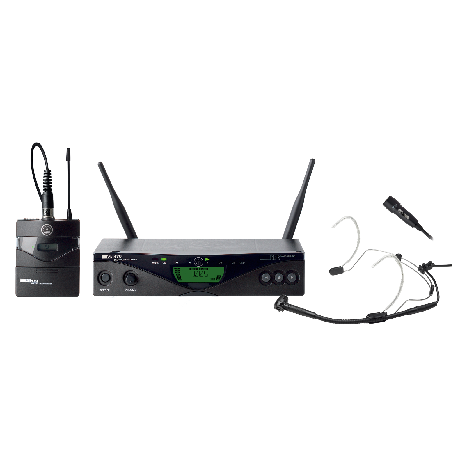 WMS470 Presenter Set Band3-K 10mW none - Black - Professional wireless microphone system - Hero