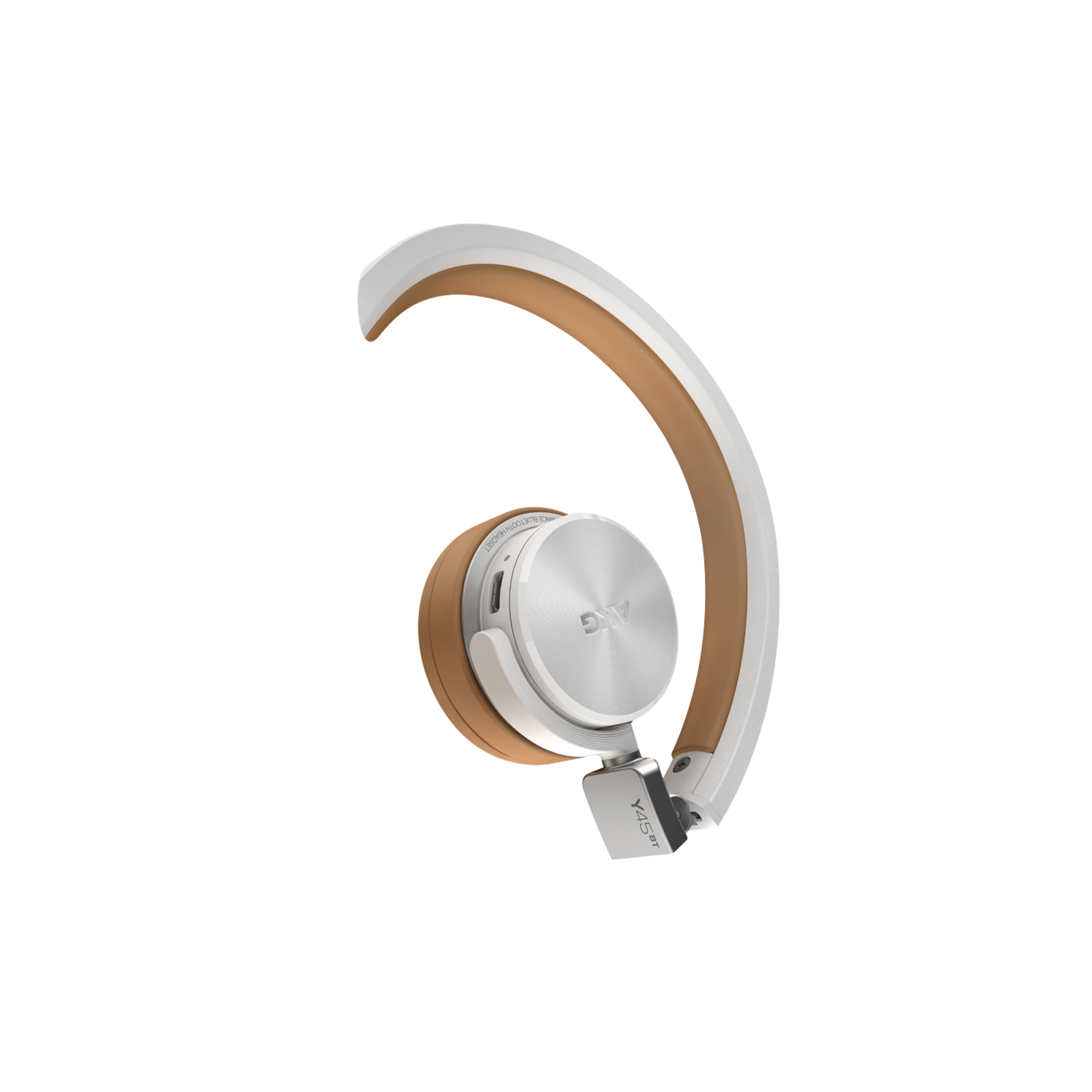Y45BT - White - High performance foldable Bluetooth® headset - Detailshot 1