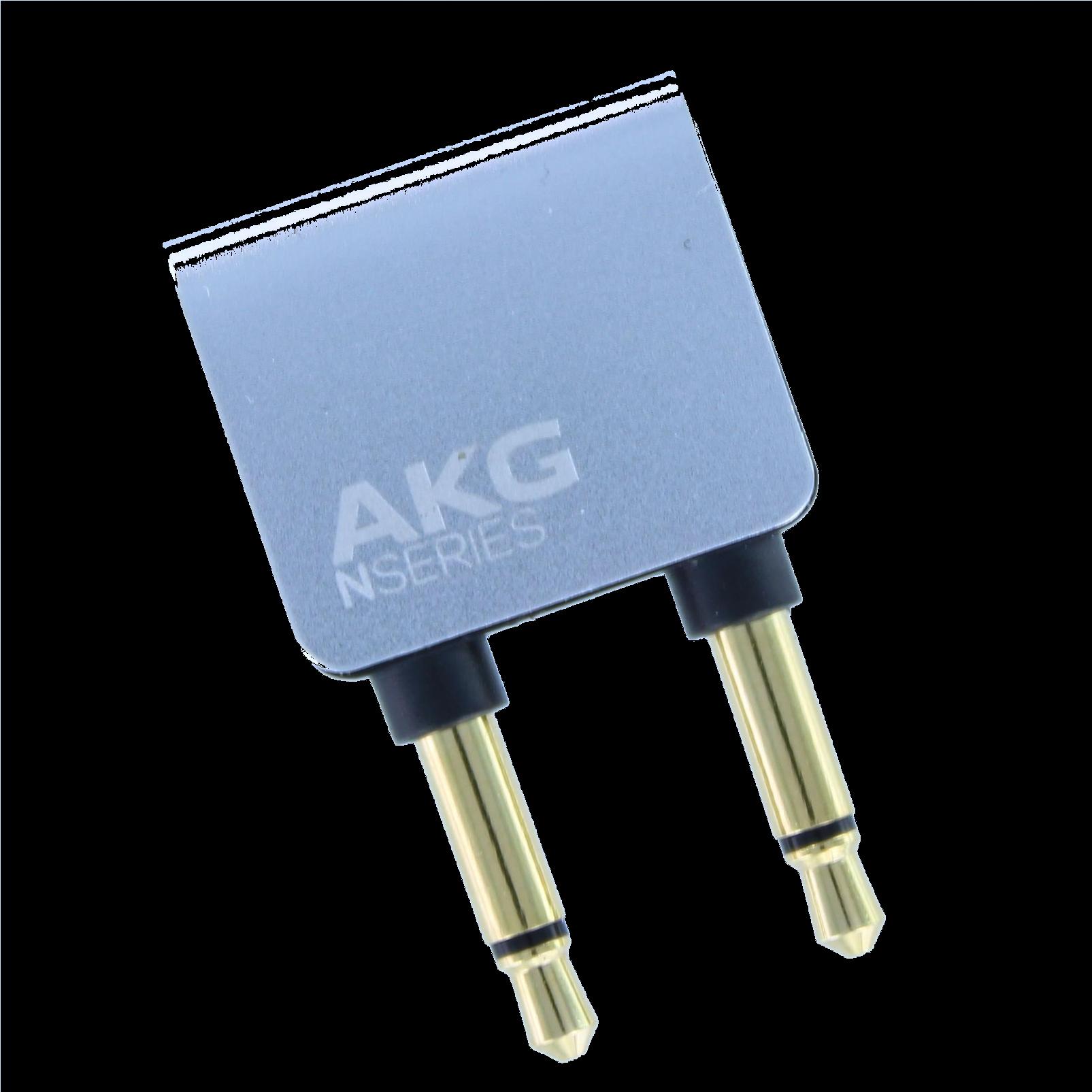 AKG Flight adaptor for N20/N40/N60N - Silver - Flight adaptor - Hero