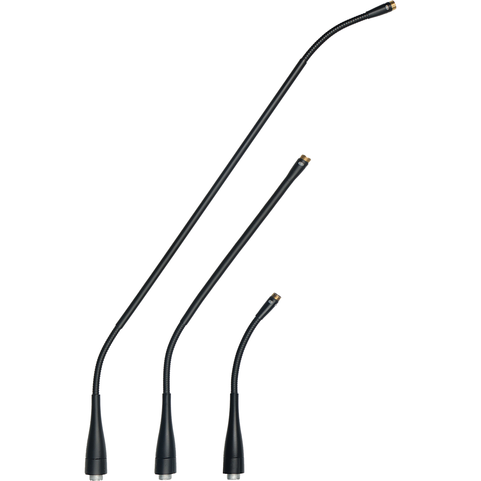 GN30 M - Grey - 300mm (11.8in) Reference modular gooseneck module - DAM+ Series - Hero